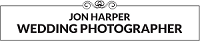 Logo of Jon Harper wedding Photography, testimonial of Easy Weddings