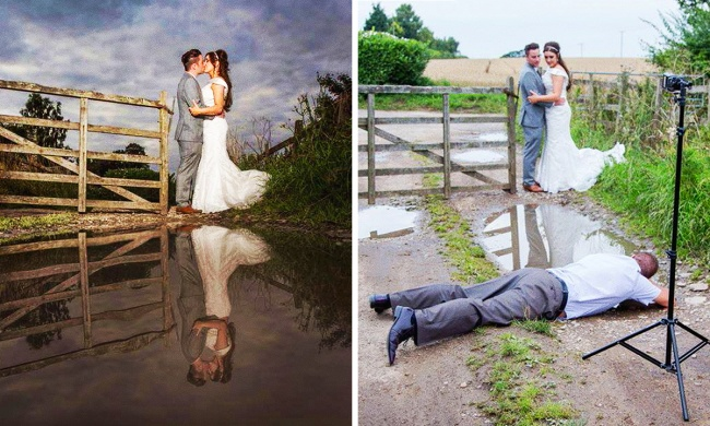 Anything for the perfect shot? Image: Chris Chambers Photography