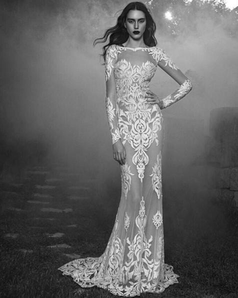 Wedding dress trends 2016 baroque inspired appliques