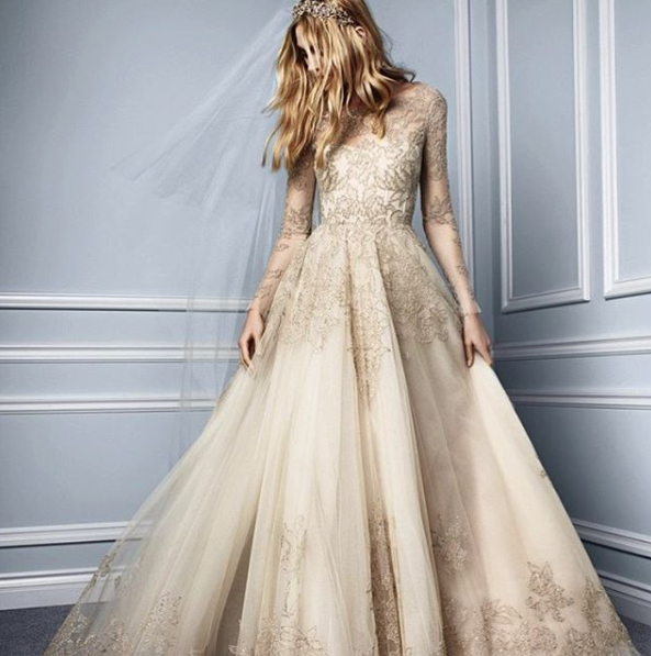 2016 wedding dress trends: we can\'t wait to see these coming down ...