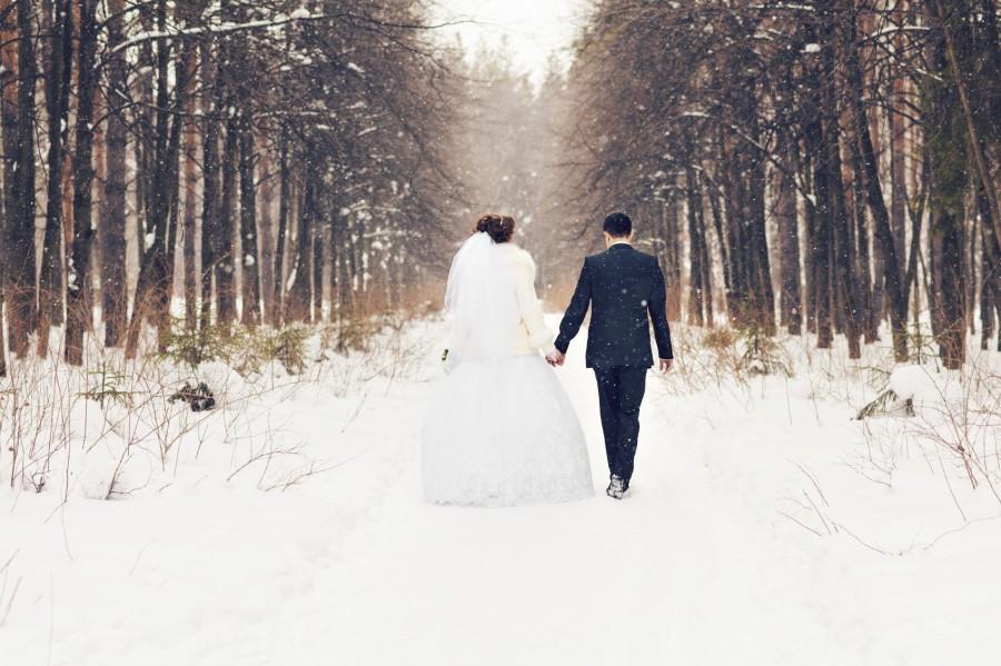 Easy Weddings a winter wedding
