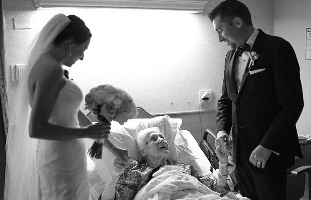 Easy Weddings Surprised Grandma 2