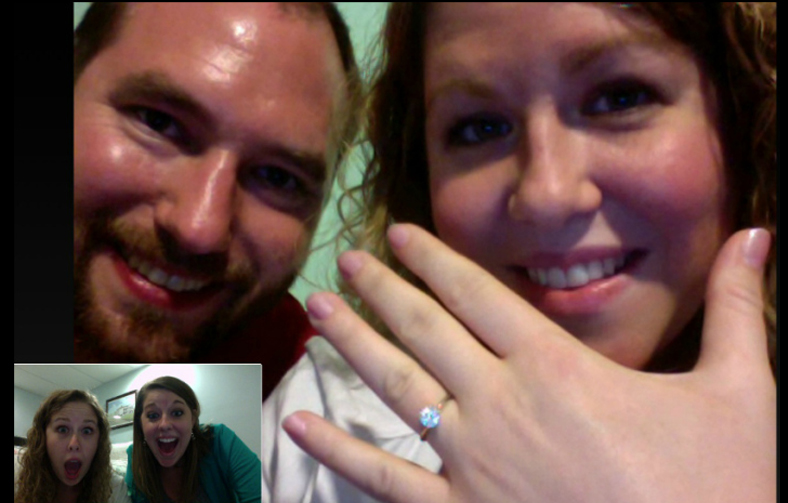 Announcing-your-engagement-via-skype-or-facetime