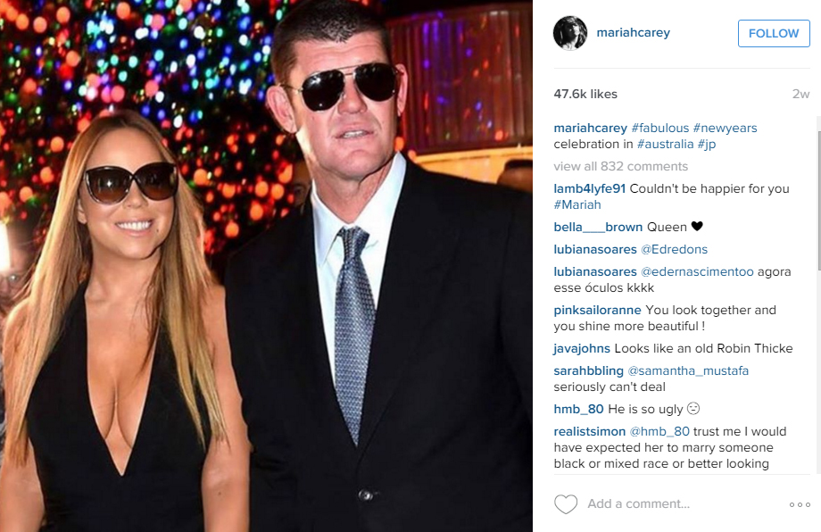 Mariah and James are engaged after a whirlwind romance
