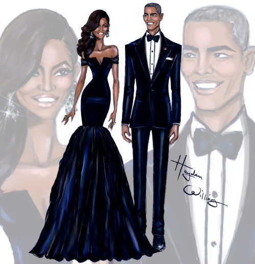 First-Lady-Michelle-Obama-President-Barack-Obama-at-the-China-State-Dinner-by-Hayden-Williams