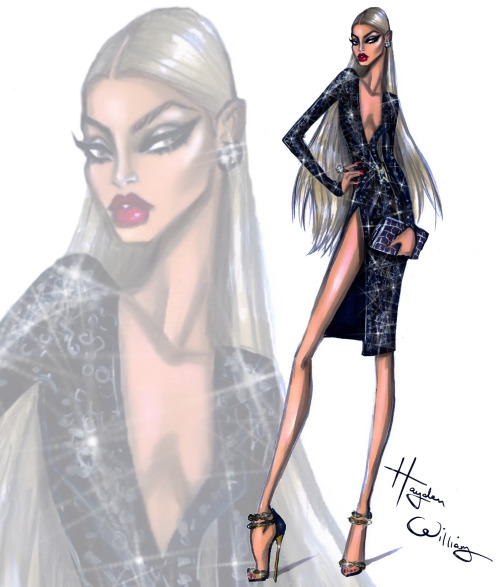 Glam-Night-Out.-'Caviar'-by-Hayden-Williams-Wedding-guest-outfit-inspiration