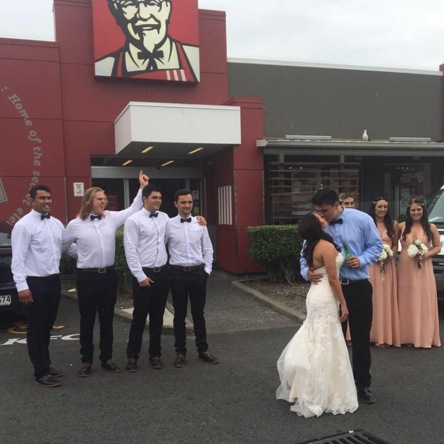 Easy Weddings KFC Wedding 1
