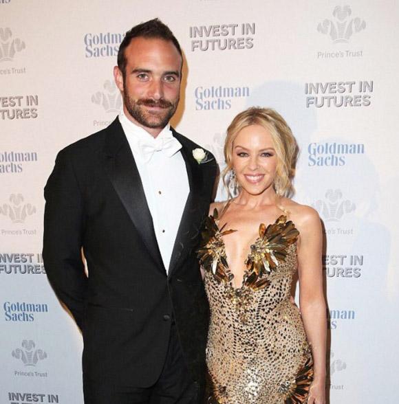 Joshua Sasse and Kylie Minogue are ENGAGED. Image Joshua Sasse via Instagram