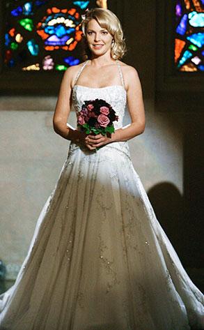 Izzy Stevens Grey's Anatomy wedding