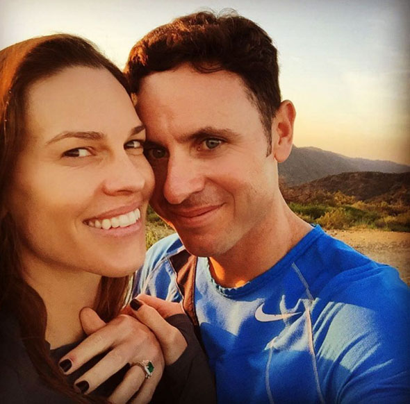 hilary swank is engaged