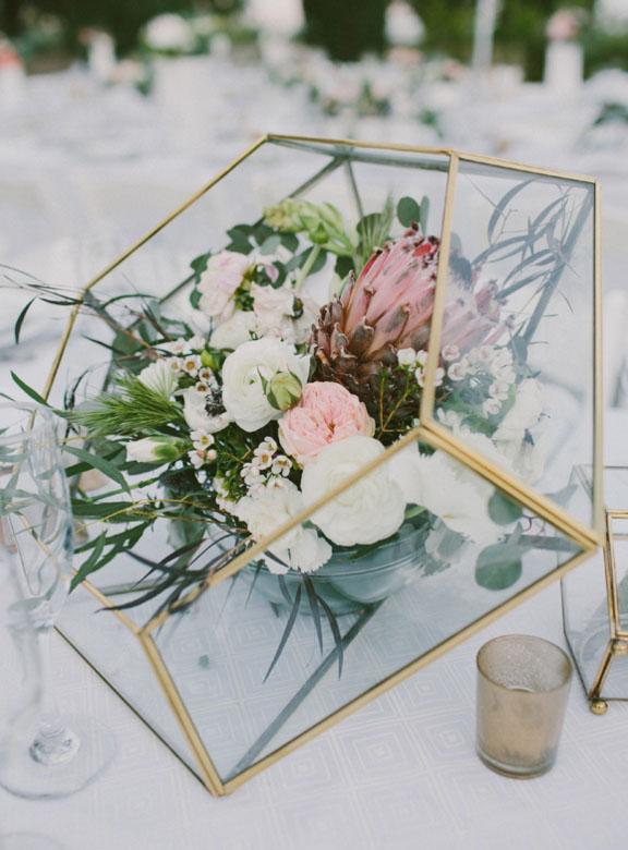 terrarium centrepiece easy weddings