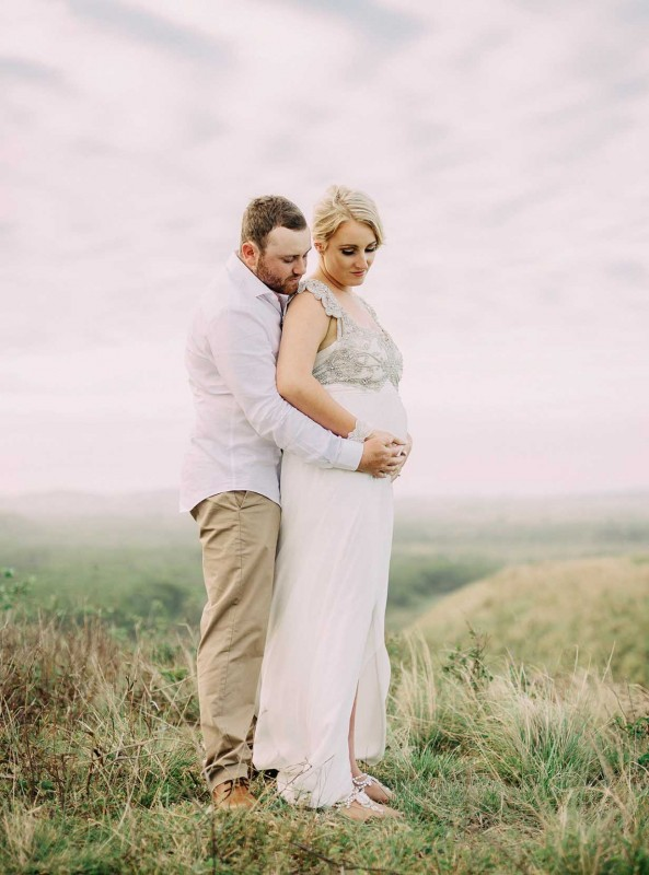 emily and james pregnant bride