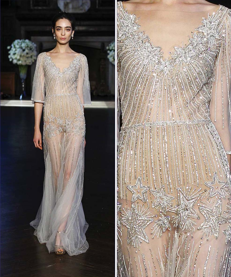 Sheer Delight: Barely There Wedding Dresses
