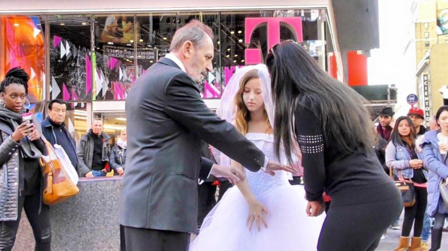 Video New Yorkers React To 12 Year Old Child Bride Marrying Senior